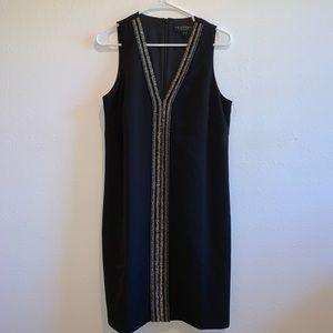 Laundry by shelli segal beaded black dress new